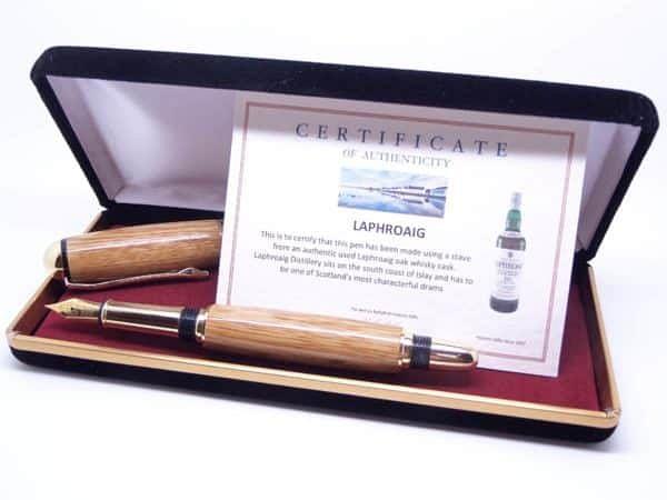 Laphroaig Whiskey Cask Fountain Pen