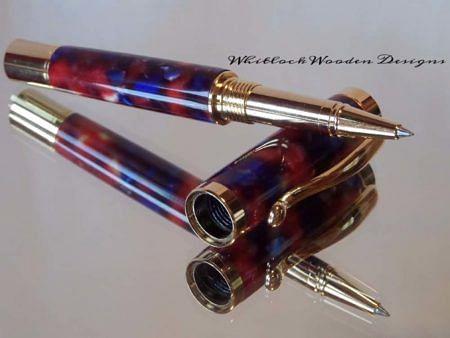 Multi Coloured Rollerball Pen