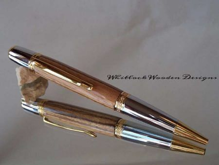 Zebrano Wood Ball Point Pen