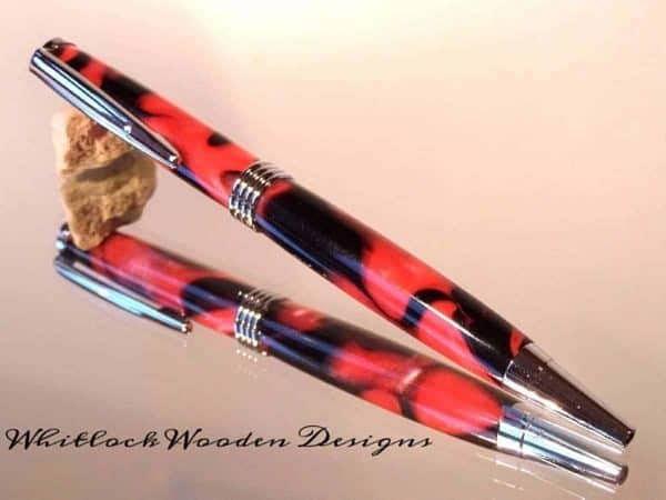 Red and Black Streamline Pen