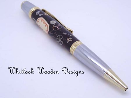 Watch Parts Ballpoint Pen