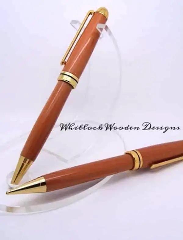 Canary Wood Pen Set