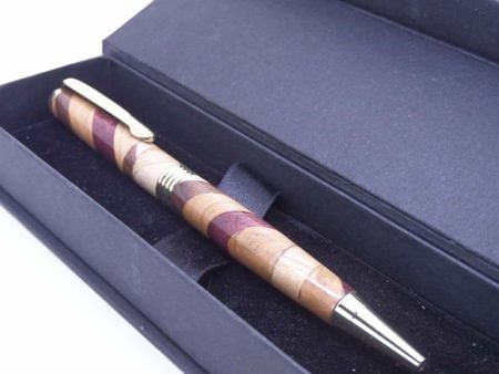 Wooden Segmented Ballpoint Pen