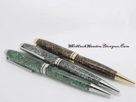 Handmade Glitter Ballpoint Pens