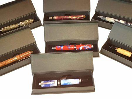 Colourful Handmade Fountain Pens