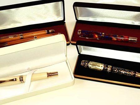 Four Luxury Fountain Pens