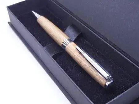 English Oak Ballpoint Pen