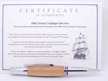 HMS Victory Wood Pen