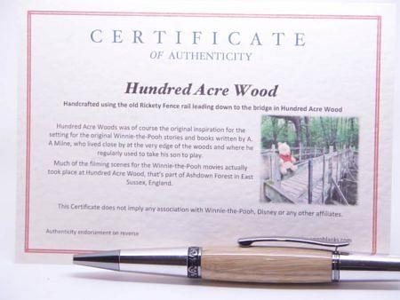 Winnie The Pooh 100 Acre Wood Ballpoint Pen