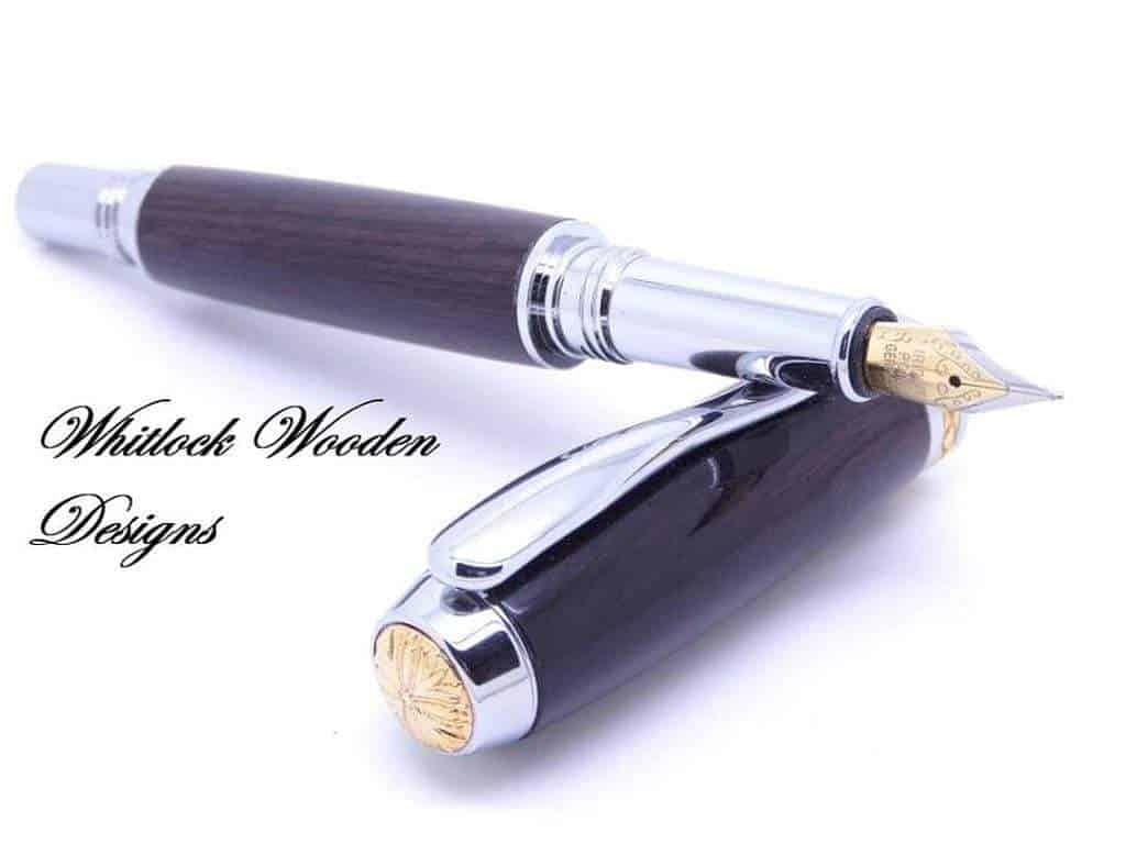 custom wooden fountain pen