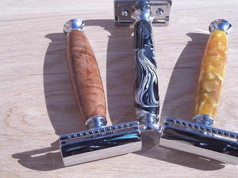3 different safety razors