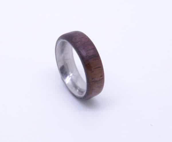 Black Walnut Wood Ring