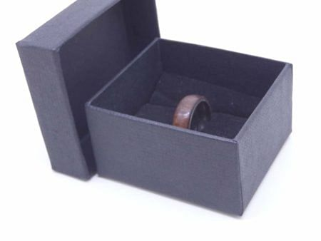Black Walnut Wood Ring