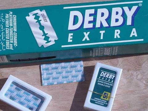 derby double edge razor blades