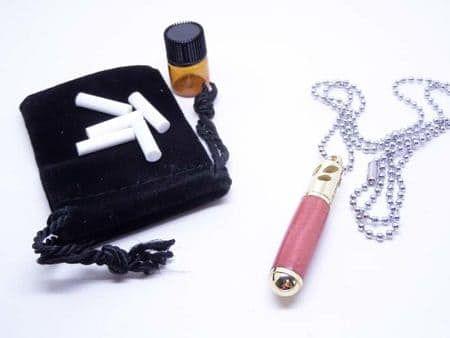 Pink Ivory Aromatherapy Pendant